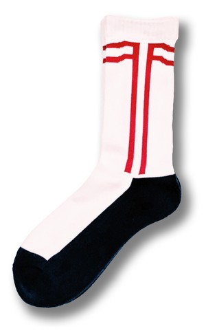 FAITH SOX 【White × Red × Navy】