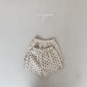 【予約販売】drop billy pants【baby】〈bella bambina〉