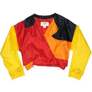 『 CASTELBAJAC』90s Nylon cropped jacket
