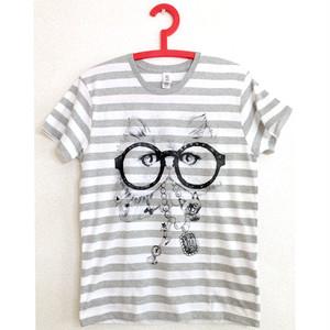 ボーダーTシャツS「おしゃれ泥棒」 t 02