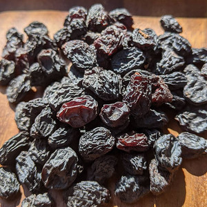 ブラックレーズン 220g 黒レーズン  ドライフルーツ 無添加 砂糖不使用 ノンシュガー レーズン 干しブドウ 干しぶどう