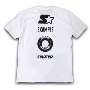 STARTER X EXAMPLE TOTEM POLE LOGO TEE/WHITE