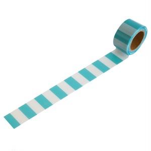 マカロンブルー(25mm×5m巻・強粘着)RYJ-21 デザイン養生テープ