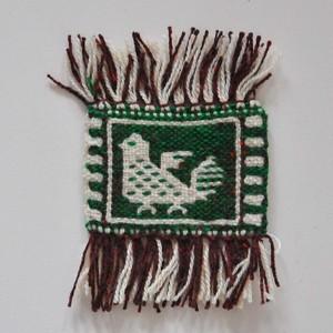 コースター ヤノフ村の織物 (B)