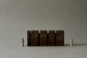 (064)wood figure-mini &structure 箱入 026