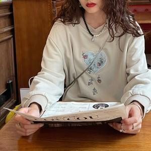 【送料無料】 刺繍花柄パーカー・U195