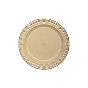 Koyo ラフィネ リムプレート 皿 約17.5cm シナモンベージュ 15922107