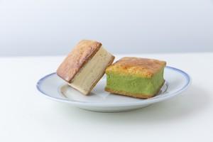 『プレミアムバターサンド|ホワイト+在来茶の6個セット』→ ウキハスタンド!オンラインショップに移動しました!!https://netshop.ukiha-stand.com
