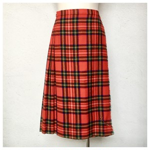 Vintage The Edinburgh Wollen Mill Kilt Skirt  DR_154