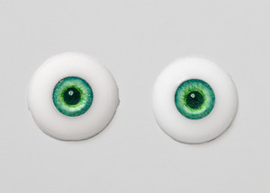 Silicone eye - 19mm Caribbean Eclipse SP with Smaller Iris for 17mm