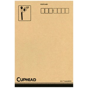 CUPHEAD ( カップヘッド ) ポストカード⑧ アイテム&コイン / エンスカイ
