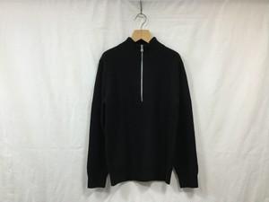 "walenode""washable cashmere wool commando sweter black"