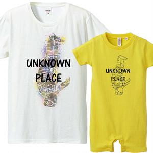 [おそろいコーデ] Unknown place