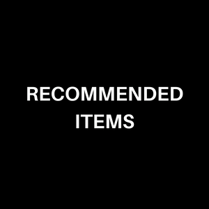 【 recommended items 】
