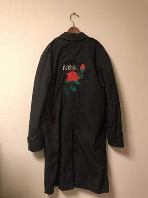rose 我愛你 needlework staincollar coat