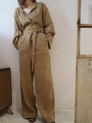 NOWOS / SILK LINEN ALL IN ONE