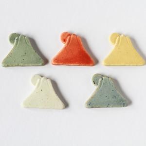 信楽陶器の箸置き 富士山