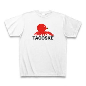 TACOSKE - オリジナルTシャツ(ロゴ大)
