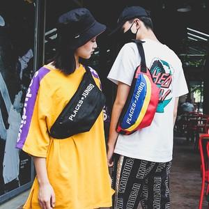 【goods】ファッション配色アルファベットバッグ22040390