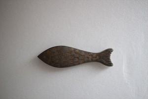 竹口要|サカナ箸置き (ゴールド)