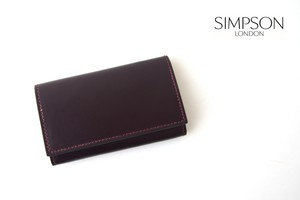 シンプソン ロンドン|SIMPSON LONDON|キーケース|コードバン|ボルドー