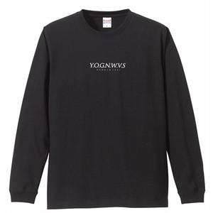 YOGNWVS 刺繍 LONGTEE (Black)