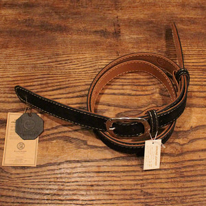 Velor Leather Strap / Black【Summer Sale】65%OFF!!