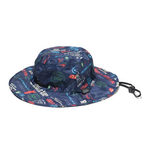 [KiU×NAC]SAFARI HAT / NAVY
