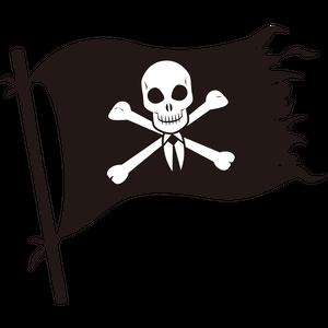 ビジネス海賊旗
