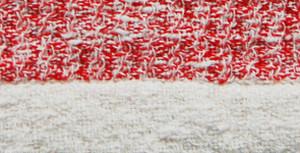 Kontex Rib Hand Towel Red