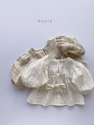 【予約販売】Monet blouse〈Aosta〉