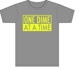"pasDIME original T-shirt ""One DIME"""