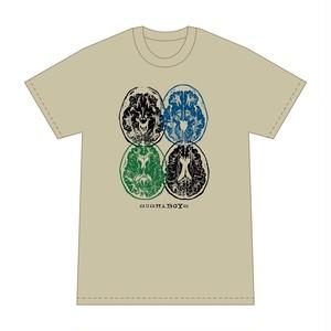 SUSHIBOYS 脳みそ T-shirt (beige)