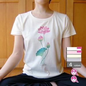 〈悟りシリーズ〉蓮Tシャツ【選べる4色*2サイズ】