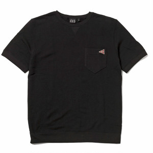 FOURTHIRTY (430) S/S FLAG ICON SWEAT / BLK / サイズ1