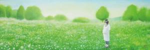 自然の詩~草原のひととき~【複製画】