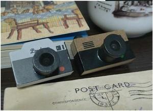 昔っぽいカメラスタンプ