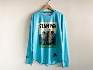 STAMP RUN&CO(スタンプランアンドコー)STAMP LONG SLEEVE TEE  (TRAILHEAD)ユニセックスロングTシャツ