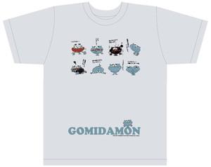 ゴミだもんTシャツ US:S&Mサイズ(LINESTAMPバージョン)