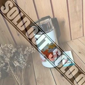 未使用デッドストック昭和レトロポップナショナル魔法瓶古い花柄ポット*エベレストアートジャグ1.9Lヴィンテージビンテージアンティーク