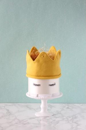 ダイパーケーキ(おむつケーキ)【COCOFAIRY(コオフェアリー)Yellow】リニューアル(Sサイズおむつ使用)