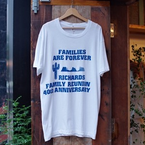 1980s Print T-Shirt / Fruit Of The Loom / 80年代 フルーツ オブ ザ ルーム / Big Tee