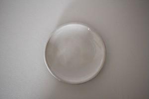 内山太朗|取皿 4寸 錫釉(キュノワール)