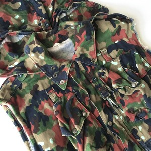 Swiss Armed Forces : M1960 Alpen camo vest (used)