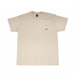 FLOWGRESSIVE FG TAG POCKET TEE BY ELI MORGAN GESNER SAND
