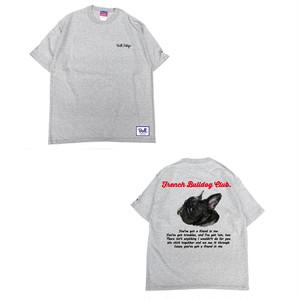 ★キッズサイズ【9/16~9/20】限定受注生産 Bull.Tokyo オリジナル Tシャツ French Bulldog Club ブリンドル
