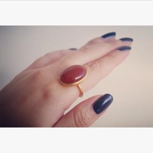 Carnelian ring (カーネリアン)#15