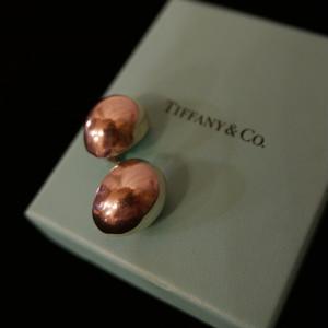 Tiffany Oval Silver Ear clip