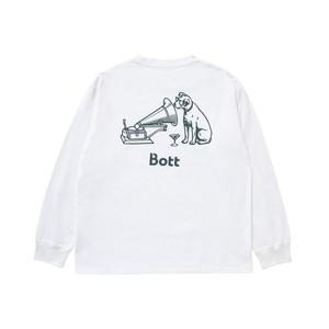 Dog L/SL Tee(white)