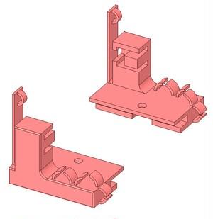 【3Dデータ】ロボムーバーのスイッチホルダーパーツのSTLファイル